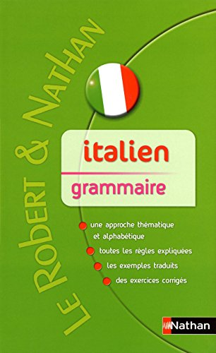 Robert & Nathan Grammaire Italienne