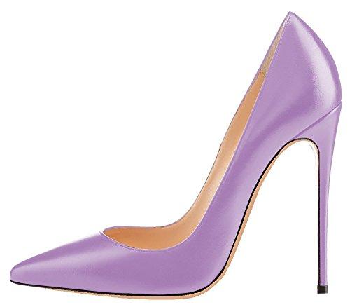 uBeauty - Scarpe da Donna - Scarpe col Tacco - Classiche Scarpe col Tacco - Scarpe Colorate Rosa A