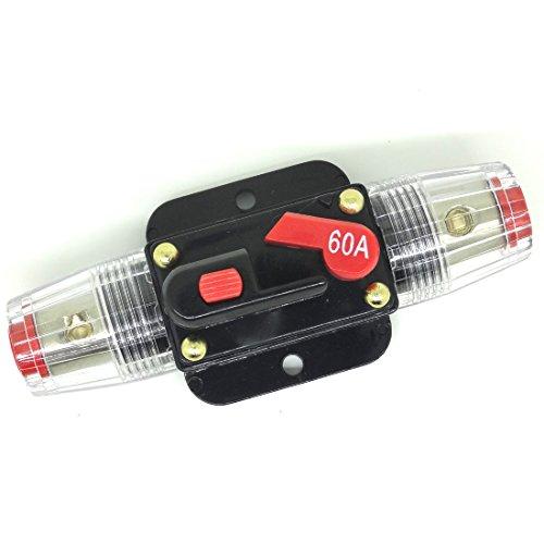 conpus auto audio stereo 12V dc interruttore automatico Sostituire fusibile 12VDC 60Amp 60A ad159