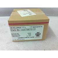 Ricoh A2579670 Magenta Developer - Rodillo revelador para impresoras Plata