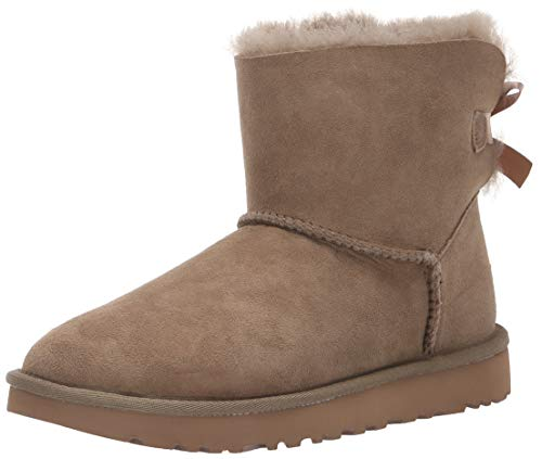 UGG Damen, Schleife (W Mini Bailey Bow Ii), Antilope, 41 EU