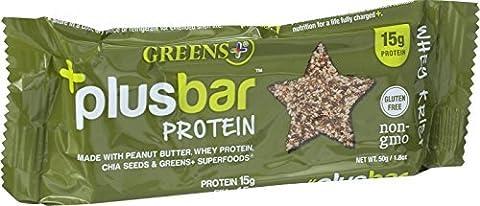 Protein Bar Whey Krisp 12 Bar(S) by Greens Plus