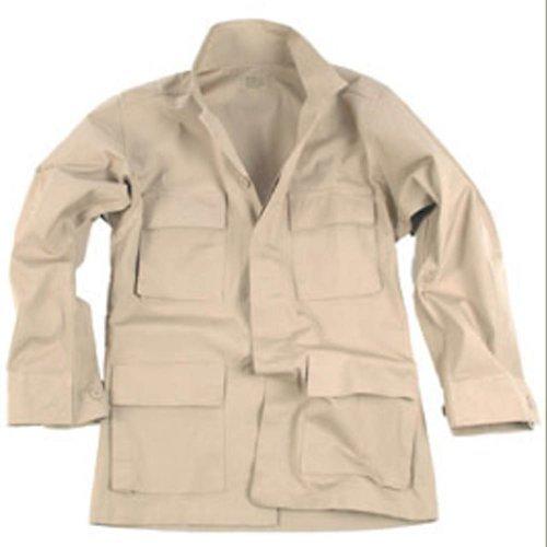 US Feldjacke BDU Ripstop, beige (XL) (Ripstop Shirt Bdu Us)