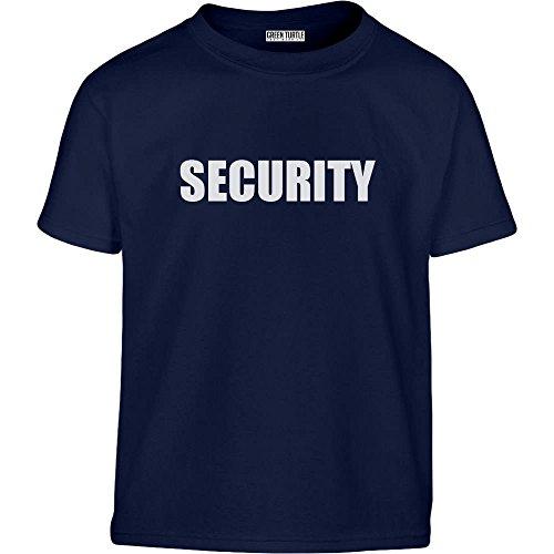 Security Motiv Für Die Wachsamen Babies Kleinkind Kinder T-Shirt - Gr. 86-128 116/128 (5-7J) (2 Halloween Kostüm Ideen Jungen Jährigen)