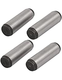 Tradico® Carbon Steel GB117 40mm Length 12mm Small End Diameter Taper Pin 4pcs