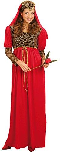 Costume da dama medievale per donna XL