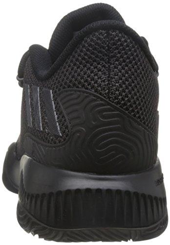 adidas Crazy Fire, espadrilles de basket-ball homme Noir - Negro (Negbas / Neguti / Negbas)