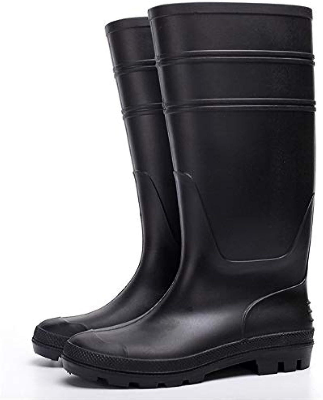 Hombres Zapatos de Goma,plastico PVC Lluvia Zapatos,Zapatos de Agua,Jardin Minas industriales,Botas de Lluvia,...