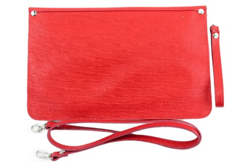 Made Italy, Poschette giorno donna Rosso (rosso)