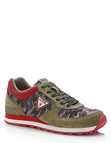 Guess Red Sneakers Print A Hoy Uijz5tjSj