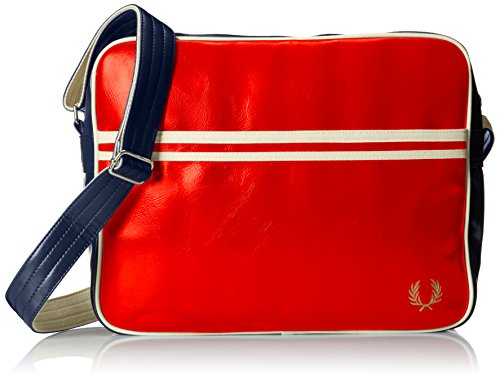 Fred Perry Classic Uomo Shoulder Bag Verde Rot