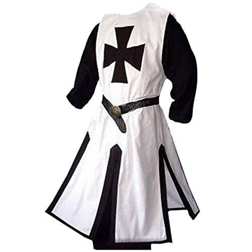 Viktorianischen Priester Für Erwachsene Herren Kostüm - hongxin Herren Karnevalskostüm Mittelalter Viktorianischen Tuniken
