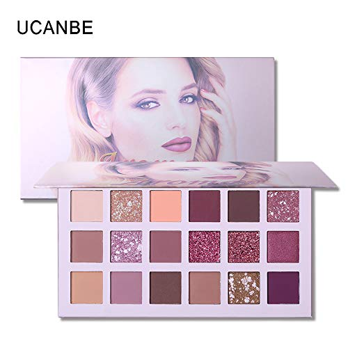 Beauty Essentials Beauty Glazed 14 Color Eyeshadow Palette Makeup Shimmer Matte Pigmented Smokey Eye Shadow Pallete Long-lasting Natural Cosmetics To Make One Feel At Ease And Energetic