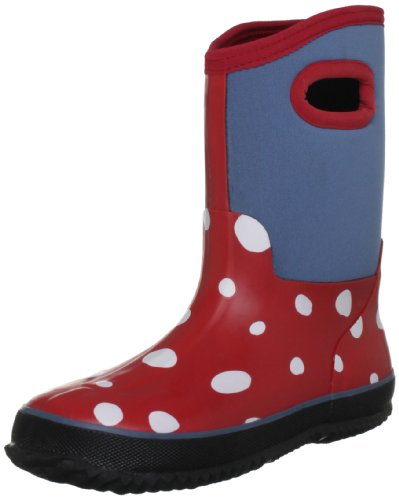 hatley-white-dots-on-red-madchen-schneestiefel-rot-rosso-chex-red-grosse-18-2-uk