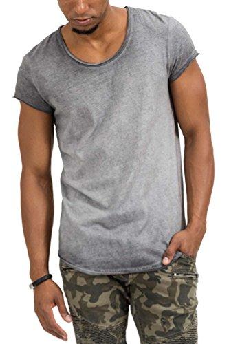 bc87692697 trueprodigy Casual Hombre Marca Camiseta Basico Ropa Retro Vintage Rock  Vestir Moda Cuello Redondo Manga Corta