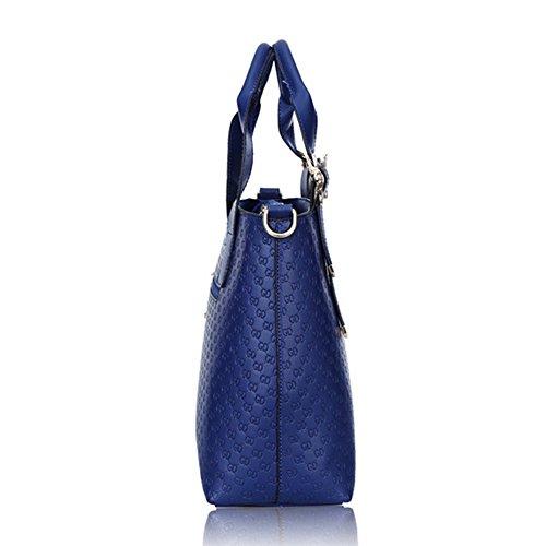 Eysee, Poschette giorno donna Blu nero 30cm*22cm*11cm blu