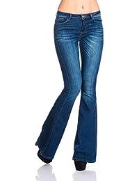 ONLY - Jeans - Femme Bleu Bleu