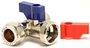 Plumb-Pak Connecteur en T pour robinet de machine à laver/lave-vaisselle 15 x 15 mm