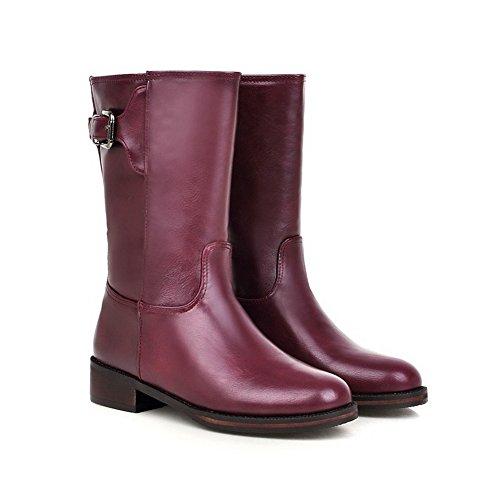 A&N - Pantofole a Stivaletto donna Purple