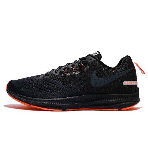 Running Negro Naranja Nike Zoom Winflo 4 Shield