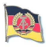Deutschland DDR Flagge vergoldet Höflichkeit Emaille Pin-Anstecker