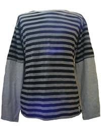 Classique t-shirt rayé à manches longues- Fair Trade - 100% coton