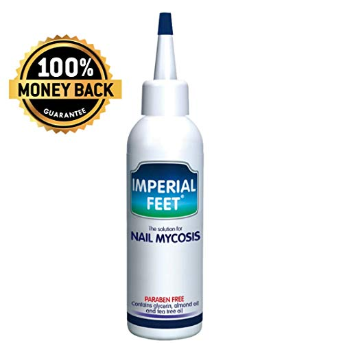 Nail Mycosis Solution 75 ML | Imperial Feet | Fungal Nail Treatment | Fungal Toenail Treatment | Bestseller United States