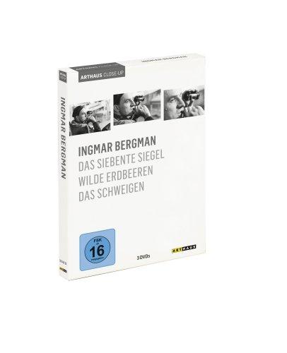 Arthaus Close-Up: Ingmar Bergman ( Das siebente Siegel / Wilde Erdbeeren / Das Schweigen ) [3 DVDs]: Alle Infos bei Amazon