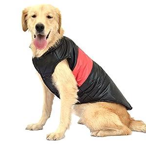 SILD Pet Chien Manteau Chaud Veste Chien Hiver Coton Vestes Chien coupe-vent Gilet Automne Chien Doux Lumière Chien Vêtements Veste Gilet Harnais Pad Puffer
