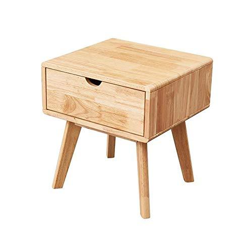 Tables CJC Consoles Sofa Côté Fin Solide Bois Chevet De Chevet avec Tiroir (Couleur : Wooden Color)