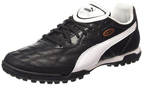 Puma Esito Classico TT, Herren Fußballschuhe, Schwarz (black-white-bronze 01), 43 EU (9 Herren UK)