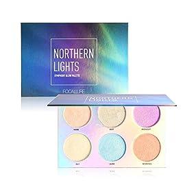 Highlighter illuminateur Poudre OYOTRIC 3 Couleurs Palette de Maquillage Highlighter + Fard à Joues Contours Cosmétiques…