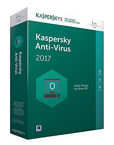 Kaspersky Anti-Virus 2017 Upgrade - [Online