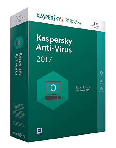 Kaspersky Anti-Virus 2017 Upgrade | 1 Gerät| 1 Jahr| PC | Download
