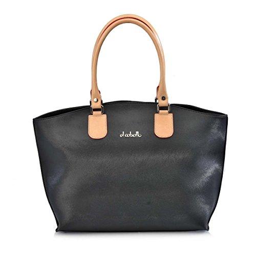 EL CABALLO Bolso Shopping Negro 1010 - Bolsos para Mujer