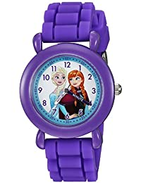 Disney Girl's 'Frozen' Quartz Plastic and Silicone Casual Watch
