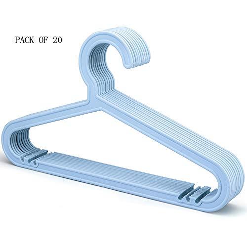 Hangers haizhen grucce, stendipanni in plastica, appendiabiti appendiabiti a parete umido e asciutto con innesto di colore 20 (colore : b)