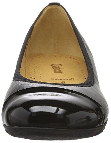 Gabor Shoes Sport, Ballerine Donna Nero (Schwarz 57)
