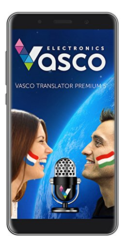 Vasco Translator Premium 5' Traducteur électronique Vocal multilingue