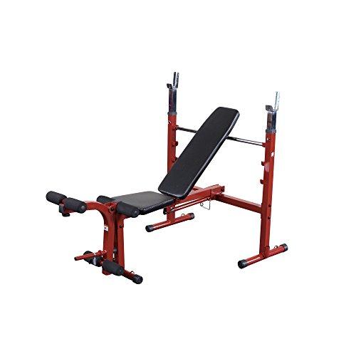 Best Fitness Banc de musculation avec développeur jambes