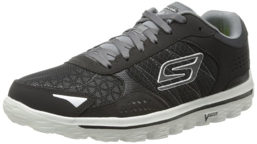 41GYpPmWIgL BEST BUY #1Skechers Mens Go Walk 2 Flash Athletic and Outdoor Sandals 53960 Black/Grey 9 UK (43.5 EU) price Reviews