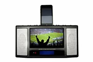 Disgo Portable 7 inch LCD TV with Bulit-In Digital TV and iPod Dock