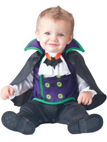 Count Cutie Baby Fancy Dress Halloween Dracula Scary Toddler Infant Costume (Outfit Beängstigend)