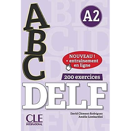ABC DELF - Niveau A2 - Livre + CD + Entrainement en ligne