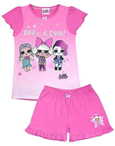 b93973b2234f LOL Surprise! Dolls Fierce Girls Glitter Pink Short Pyjamas (4-5 Years)
