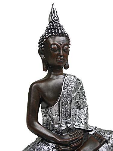 khevga Dekorationsartikel Deko-Figur Buddha 30cm - 7