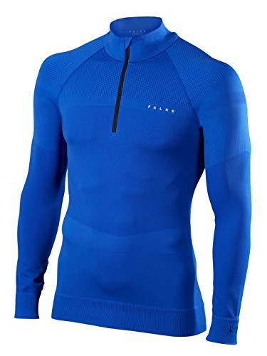 FALKE Herren Skipullover Half Zip Shirt Men Cobalt, XL