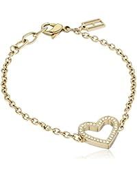 Tommy Hilfiger Damen Armband Swarovski-Kristall weiß 270062