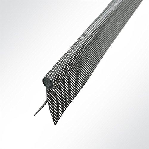 Preisvergleich Produktbild LYSEL Kederband 7, 50mm doppelfahnig Anthrazitgrau,  (L) 6m