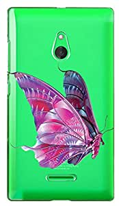 WOW Transparent Printed Back Cover Case For Nokia XL